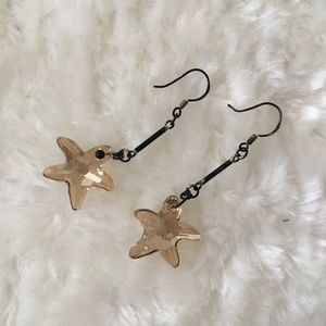 ASOS Crystal Star Earrings
